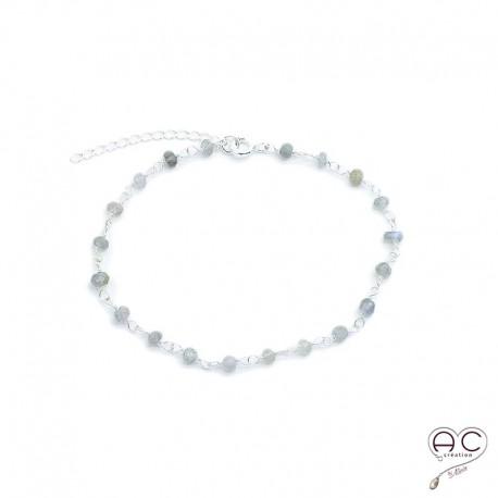 labradorite bracelet femme