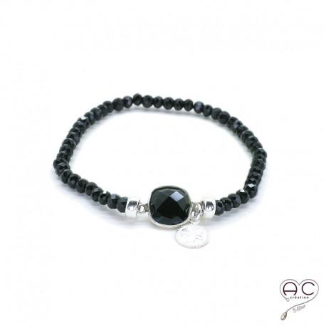 bracelet femme onyx